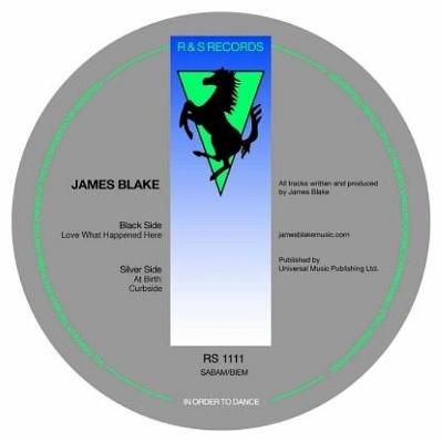 "James Blake/LOVE WHAT HAPPENED HERE 12"""