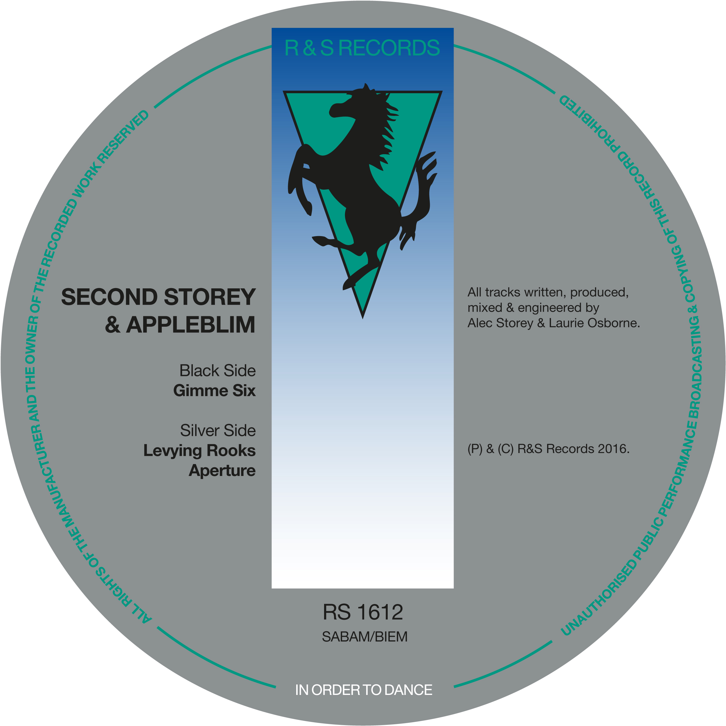 Second Storey & Appleblim/GIMME SIX 12""