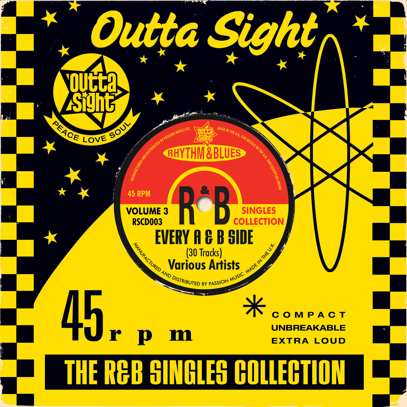 Various/OUTTA SIGHT R&B SINGLES VOL 3 CD
