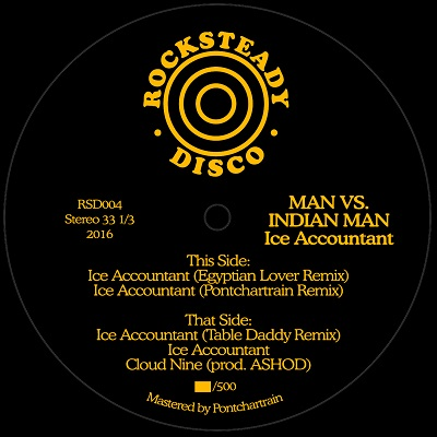 Man Vs. Indian Man/ICE ACCOUNTANT 12""
