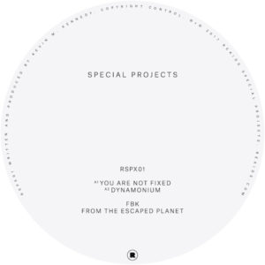 FBK/FROM THE ESCAPED PLANET EP 12""