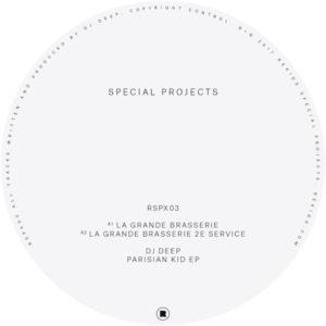 "DJ Deep/PARISIAN KID EP 12"""