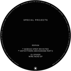 DJ Spider/WIRE HEAD EP 12""