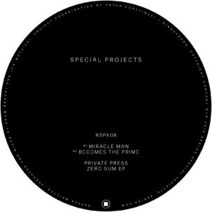 Private Press/ZERO SUM EP 12""
