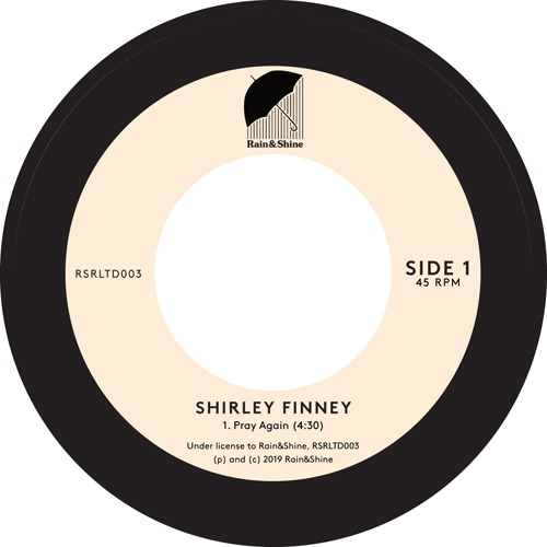 Shirley Finney/PRAY AGAIN 7""