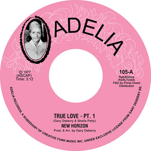 New Horizon/TRUE LOVE PT'S 1 & 2 7""