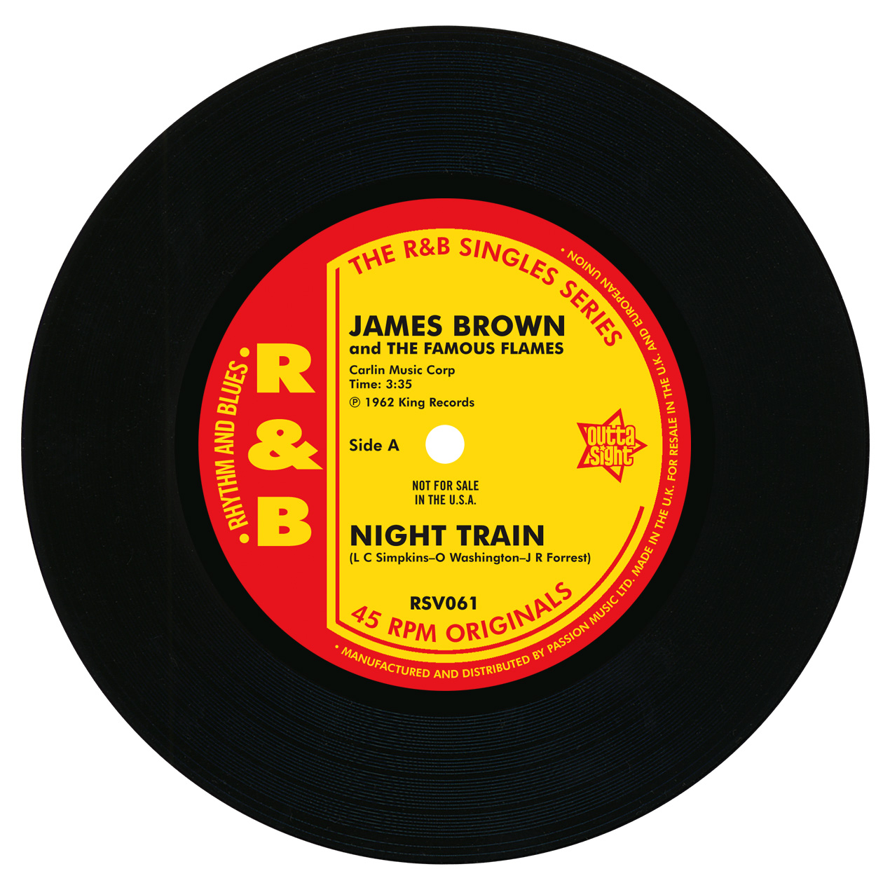 James Brown/NIGHT TRAIN & THINK 7""