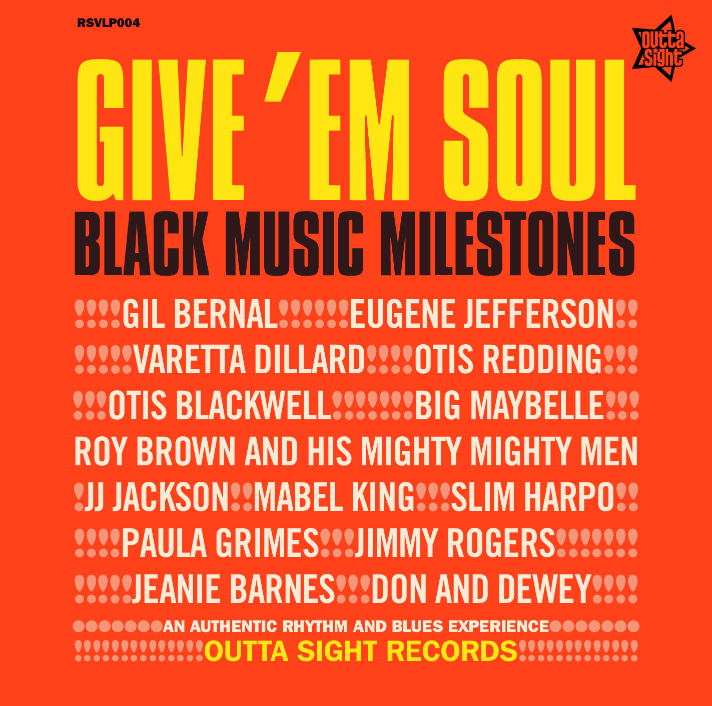 Various/GIVE 'EM SOUL (OUTTA SIGHT) LP
