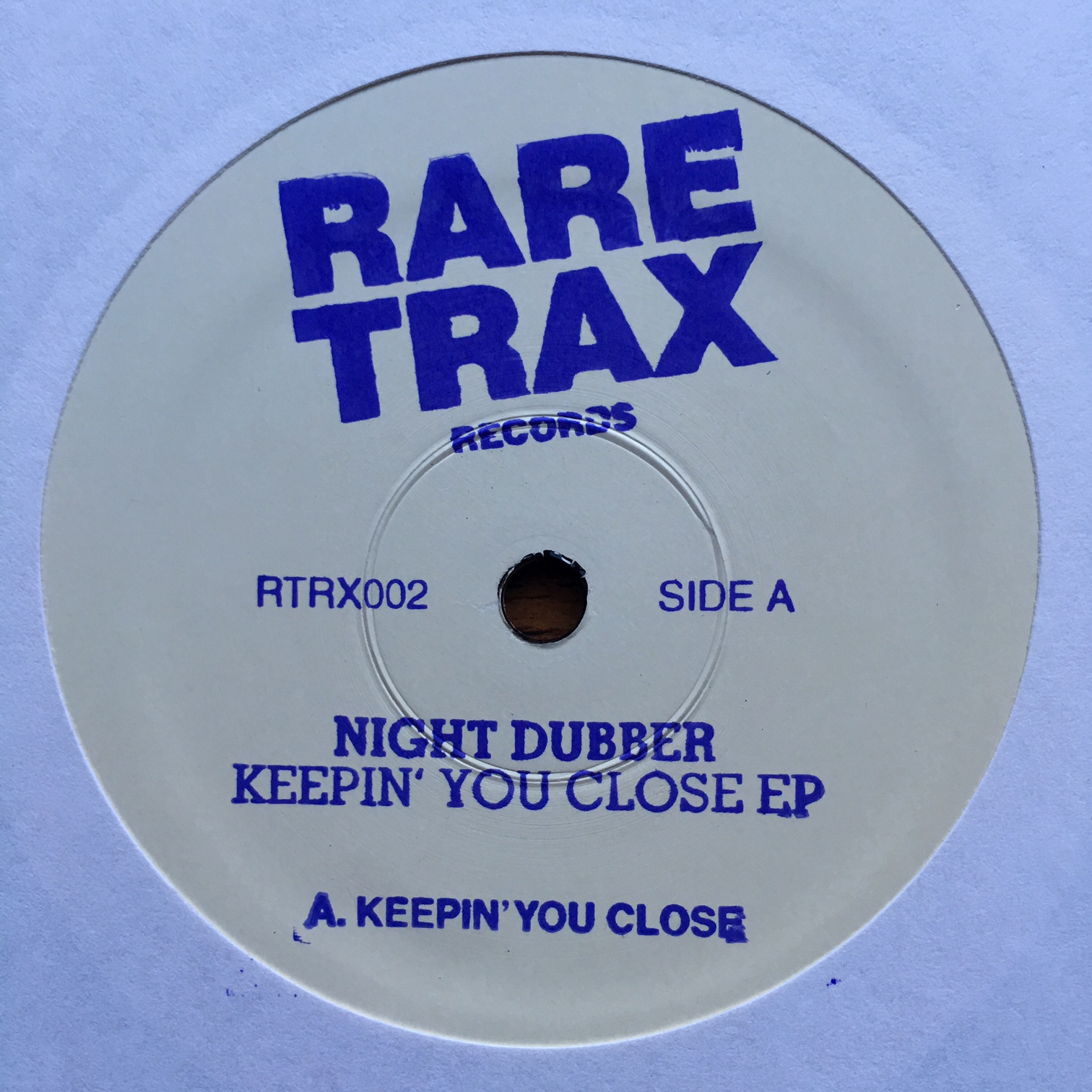 "Night Dubber/KEEPIN' YOU CLOSE  10"""