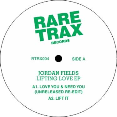 Jordan Fields/LIFTING LOVE EP 12""