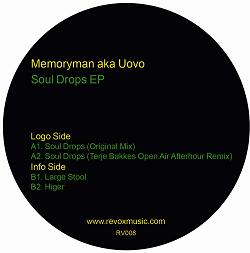 "Memoryman aka Uovo/SOUL DROPS EP 12"""