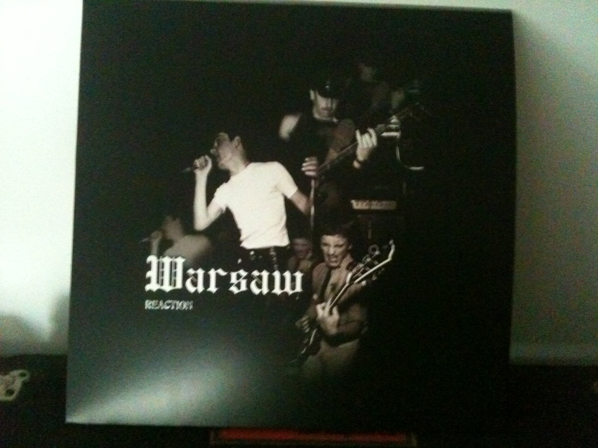 Warsaw(Joy Division)/REACTION 1977 LP