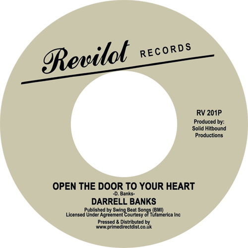 Darrell Banks/OPEN THE DOOR TO... 7""