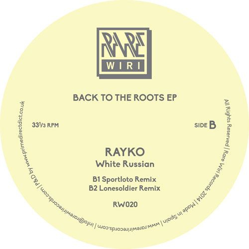 Various/BACK TO THE ROOTS EP 12""