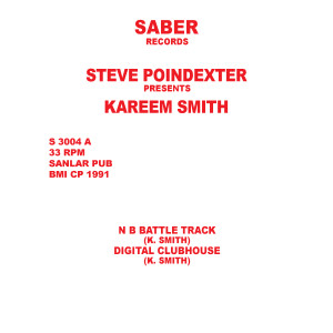 Kareem Smith/N B BATTLE TRACK 12""