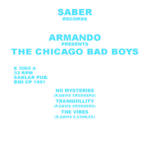 Armando/PRESENTS: CHICAGO BAD BOYS 12""