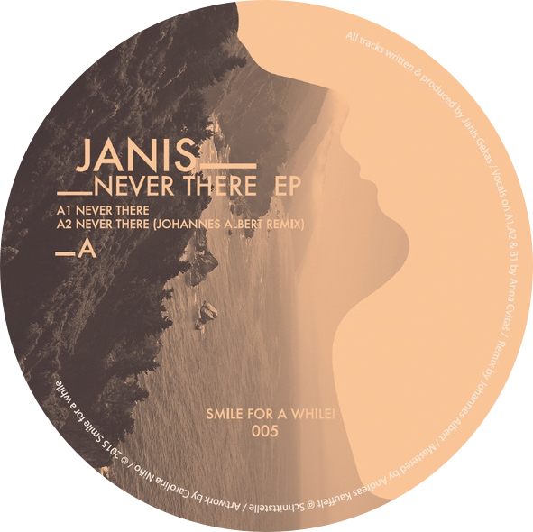 Janis/NEVER THERE EP 12""