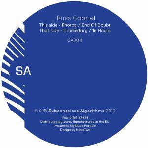 """Russ Gabriel/SA004 12"""""""