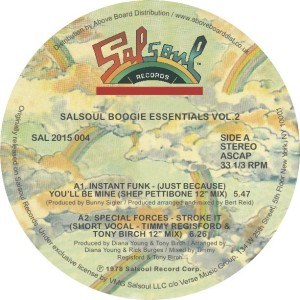 Various/SALSOUL BOOGIE ESSENTIALS #2 12""