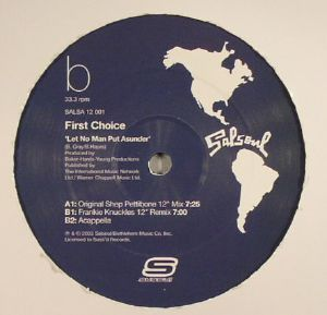 First Choice/LET NO MAN PUT ASUNDER 12""