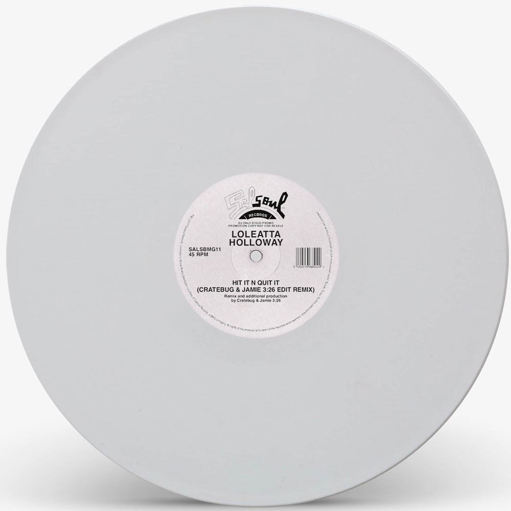 Loleatta Holloway/CRATEBUG RMX-WHITE 12""