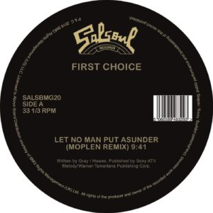 First Choice/LET NO... (MOPLEN RMX) 12""