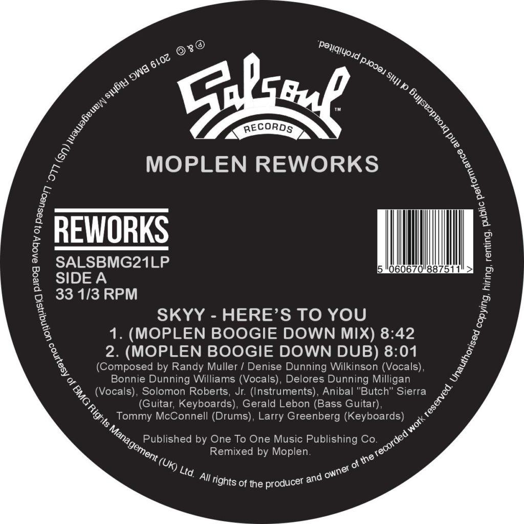 """Moplen/SALSOUL REWORKS 12"""""""
