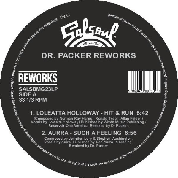 Dr. Packer/SALSOUL REWORKS VOL 1 12""