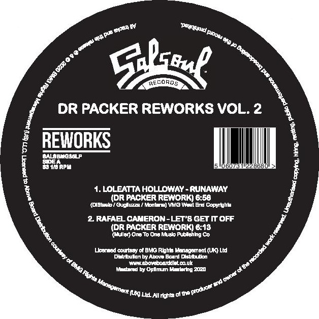 Dr. Packer/SALSOUL REWORKS VOL 2 12""