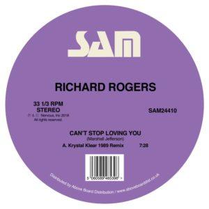 "Richard Rogers/KRYSTAL KLEAR RMX'S 12"""