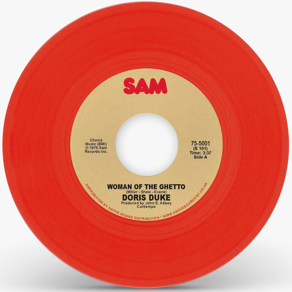 Doris Duke/WOMAN OF THE GHETTO (RED) 7""