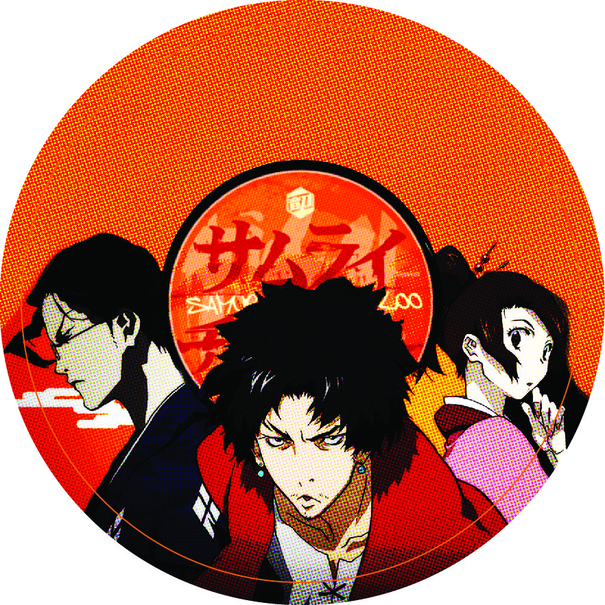 Samurai Champloo/ORANGE SLIPMAT