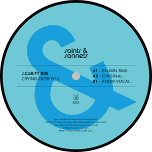 J Cub/CRYING OVER YOU FEATURING BIBI 12""