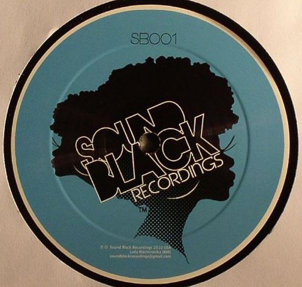 "Lady Blacktronika/BLACK GIRL EP 12"""