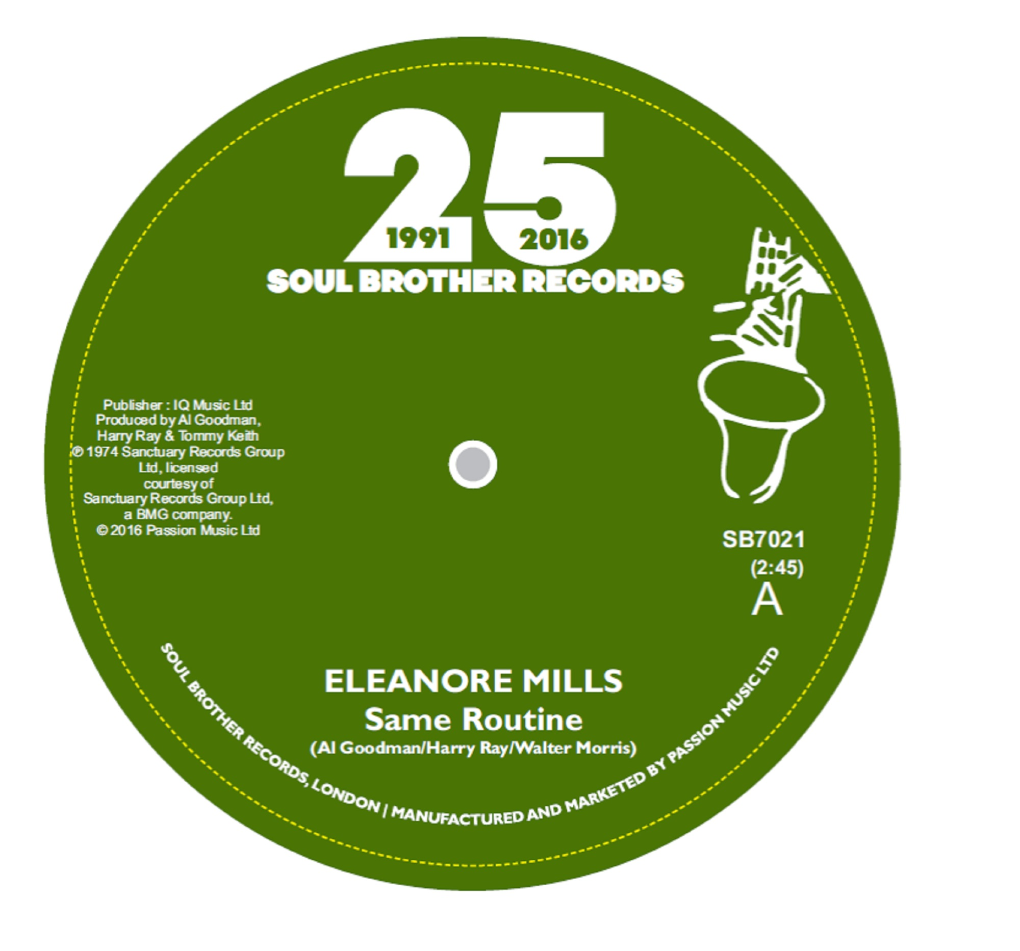 Eleanore Mills/SAME ROUTINE 7""
