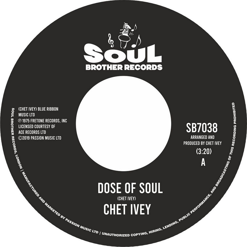 Chet Ivy/DOSE OF SOUL & GET DOWN 7""