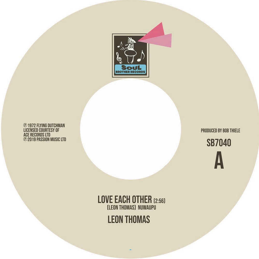 Leon Thomas/LOVE EACH OTHER 7""