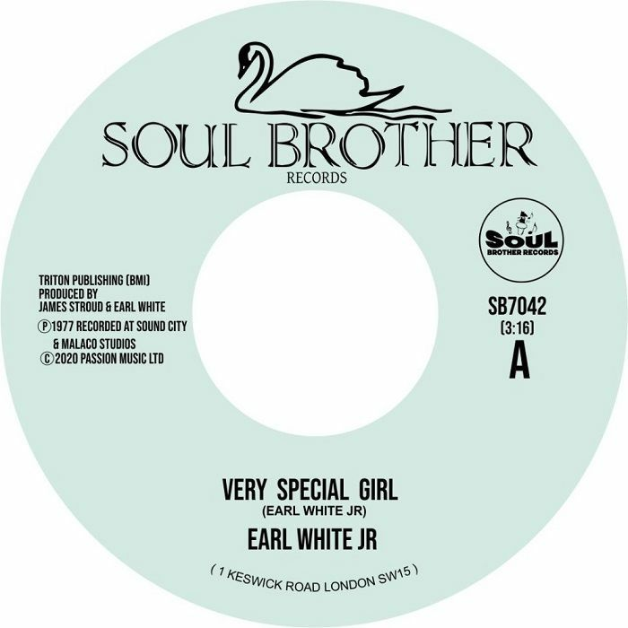 Earl White Jr/VERY SPECIAL GIRL 7""