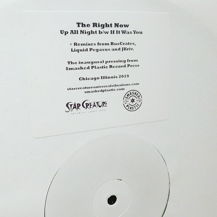 Right Now, The/UP ALL NIGHT 12""
