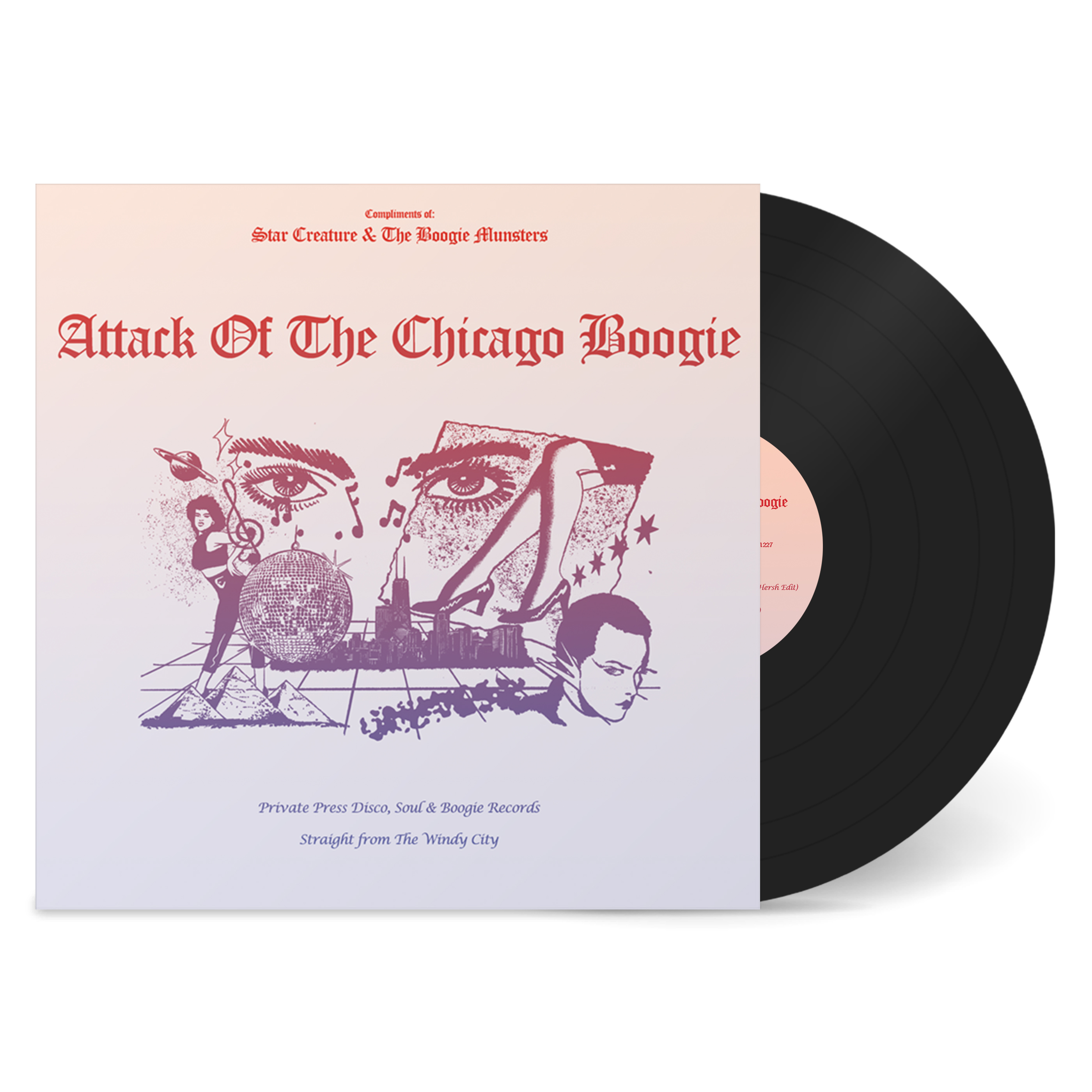 Various/ATTACK OF THE CHICAGO BOOGIE LP