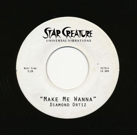 Diamond Ortiz/MAKE ME WANNA 7""
