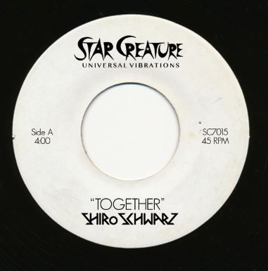 Shiro Schwarz/TOGETHER & BOOGIE GHOST 7""