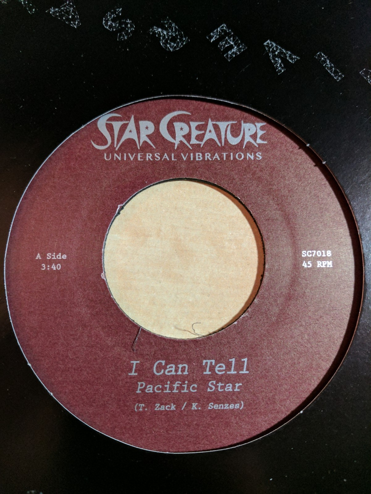 Pacific Star/I CAN TELL 7""