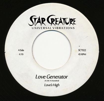 "Love's High/LOVE GENERATOR 7"""