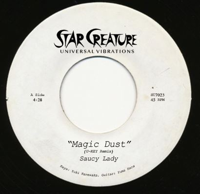 Saucy Lady/MAGIC DUST 7""
