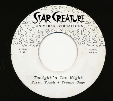 First Touch/TONIGHT'S THE NIGHT 7""