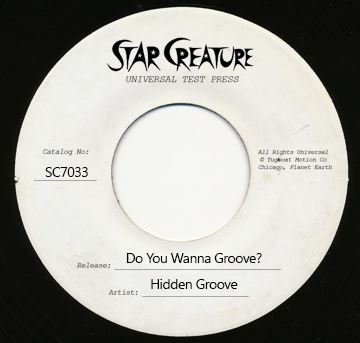 Hidden Groove/DO YOU WANNA GROOVE 7""