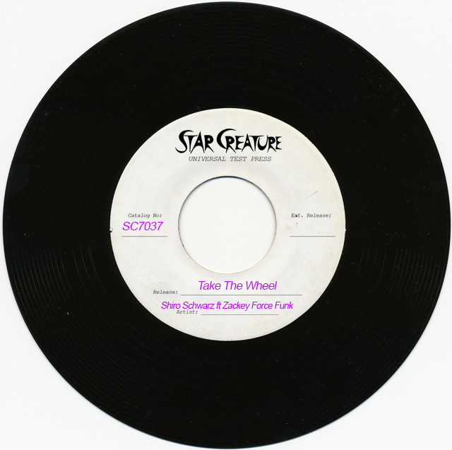 Shiro Schwarz/TAKE THE WHEEL 7""
