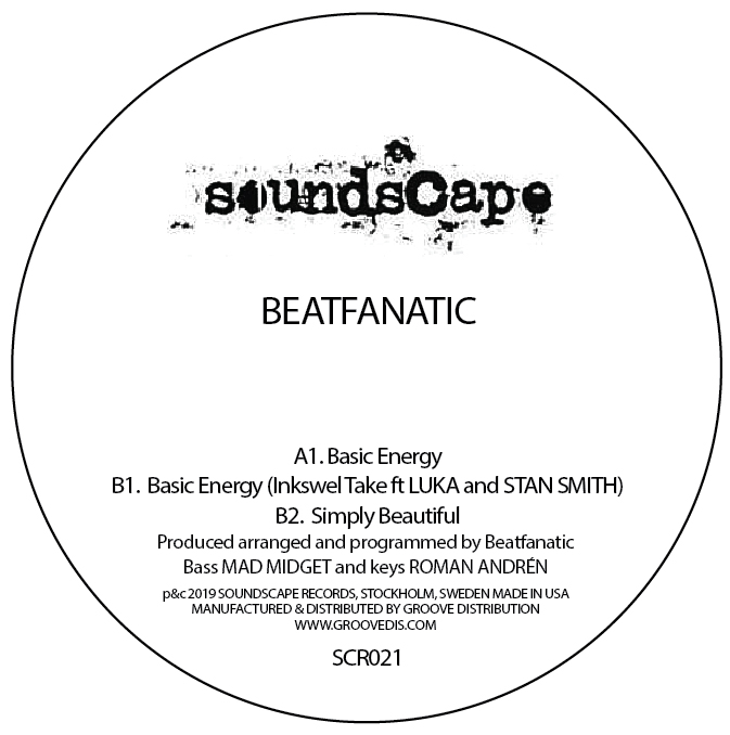 Beatfanatic/BASIC ENERGY INKSWEL RMX 12""