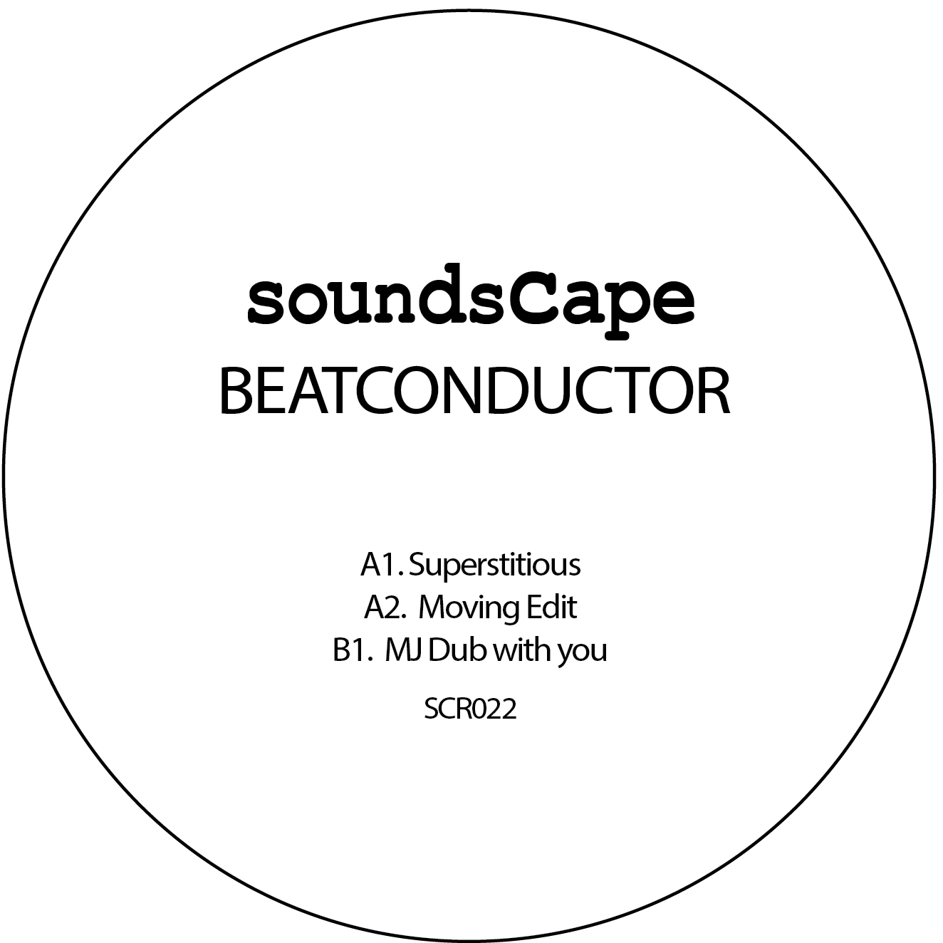 """Beatconductor/SUPERSTITIOUS 12"""""""